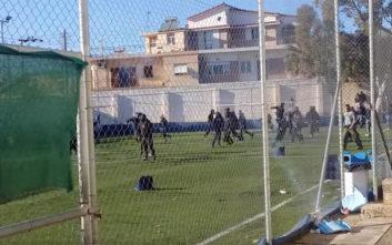 Βίντεο από τα σοβαρά επεισόδια στο ματς Ασπρόπυργος - Καλαμάτα