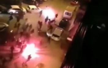 Τρεις συλλήψεις για τα επεισόδια μεταξύ οπαδών ΠΑΟΚ-Άρη
