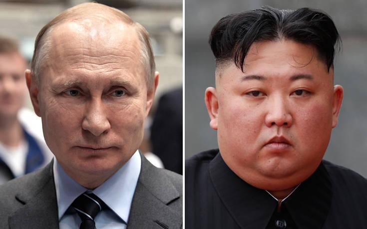 Στις 25 Απριλίου στο Βλαδιβοστόκ η συνάντηση Πούτιν – Κιμ