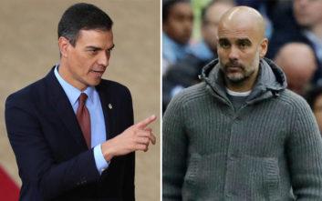 Ο πρωθυπουργός της Ισπανίας εξαπέλυσε επίθεση στον Πεπ Γκουαρδιόλα