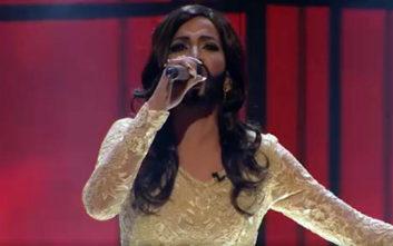 Η Στικούδη έγινε Κοντσίτα και κέρδισε τη Eurovision και το Your Face Sounds Familiar