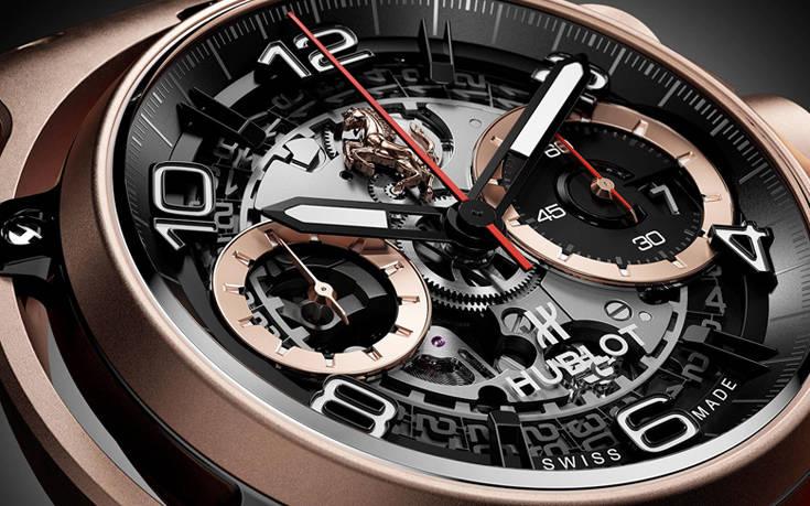 Δύο επιβλητικά χρυσά ρολόγια από τη… Ferrari και την Porsche – Newsbeast