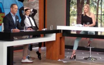 Ο Πέτρος Κωστόπουλος εξηγεί γιατί έφυγε από την εκπομπή η Άννα Μαρία Βέλλη