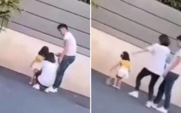Μητέρα κλωτσά το κοριτσάκι της γιατί… δεν έκανε καλή πασαρέλα