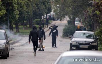 Φωτογραφίες από την ένταση στην Τοσίτσα