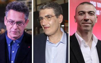 Αποδοκιμάστηκαν οι υποψήφιοι του ΣΥΡΙΖΑ Αρβανίτης, Νικολαΐδης και Γιαννούλης