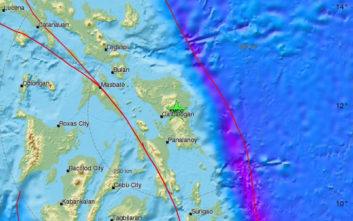 Νέος ισχυρός σεισμός στις Φιλιππίνες