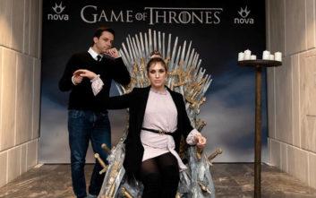 VIP προβολή του 1ου επεισοδίου της επικής σειράς «Game of Thrones» από τη Nova και το Grand Hyatt