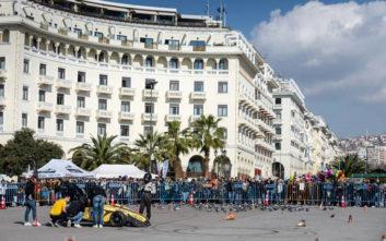Η πλατεία Αριστoτέλους θα «μεταμορφωθεί» σε πίστα ταχύτητας
