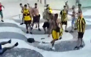 Ξύλο στην Κοπακαμπάνα μεταξύ οπαδών