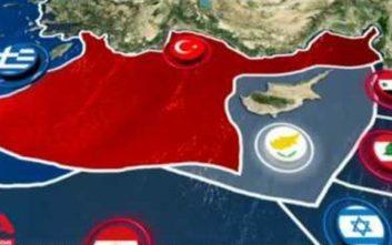 Νέα τουρκική πρόκληση, «εξαφάνισαν» το Καστελόριζο από τον χάρτη