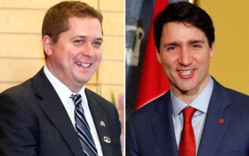 Ο ηγέτης αντιπολίτευσής του Καναδά προκαλεί τον Τριντό να του κάνει μήνυση