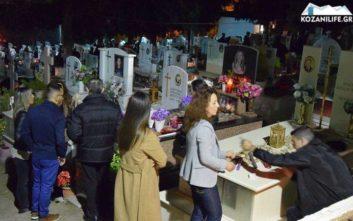Το ξεχωριστό έθιμο της Ανάστασης στα νεκροταφεία της Κοζάνης