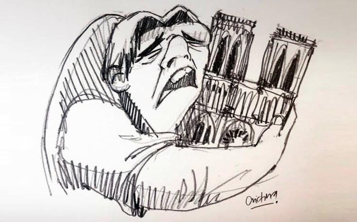 Το κλάμα του Κουασιμόδου αγκαλιά με την Παναγία των Παρισίων