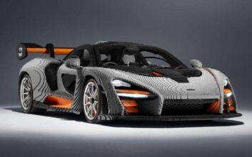 Η πρώτη McLaren φτιαγμένη αποκλειστικά από LEGO