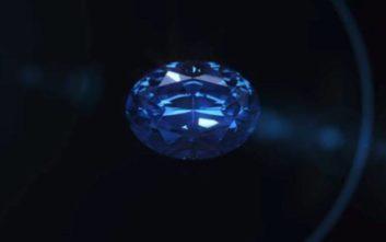 Το μπλε διαμάντι-γίγαντας της Μποτσουάνα αποκαλύπτεται
