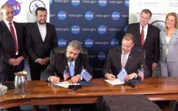 Τι προβλέπει η συμφωνία συνεργασίας του Ελληνικού Διαστημικού Οργανισμού με τη NASA