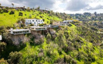 Το σπίτι που βγαίνει από το λόφο