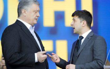Με debate στο Ολυμπιακό Στάδιο του Κιέβου έκλεισε η προεκλογική εκστρατεία