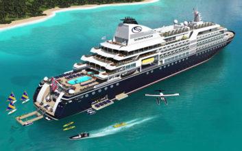 To κρουαζιερόπλοιο των 155 μέτρων που θα κάνει ταξίδια πολυτελείας σε όλο τον κόσμο