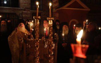 Ανάσταση στο Άγιο Όρος και στην Ιερά Μονή Βατοπαιδίου
