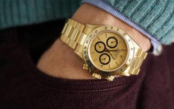 Το ολόχρυσο Rolex του Άιρτον Σένα βγαίνει προς πώληση