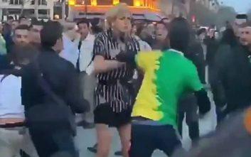 Διαδηλωτές «λίντσαραν» διεμφυλική γυναίκα στο κέντρο του Παρισιού