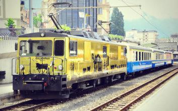 Τρένο στην Ελβετία μυεί στα μυστικά της σοκολάτας