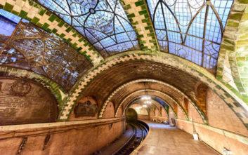 Ένας εγκαταλειμμένος σταθμός μετρό στην καρδιά της Νέας Υόρκης