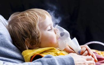 Τέσσερα εκατομμύρια παιδιά με άσθμα κάθε χρόνο στον κόσμο λόγω ρύπανσης