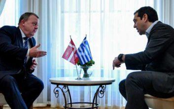 Ο πρωθυπουργός της Δανίας συνεχάρη τον Τσίπρα για τη Συμφωνία των Πρεσπών