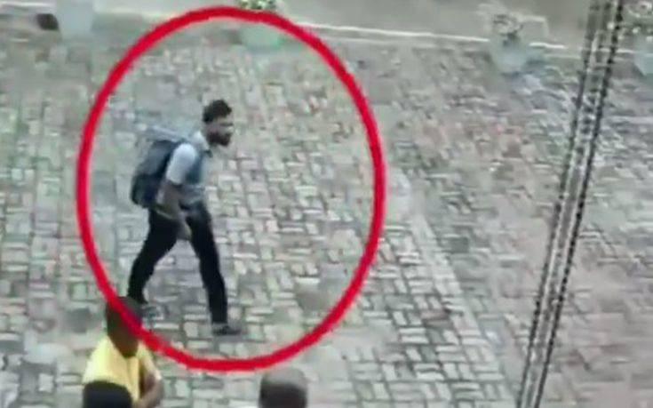 Μακελειό στη Σρι Λάνκα: Κάμερες ασφαλείας κατέγραψαν τον βομβιστή αυτοκτονίας