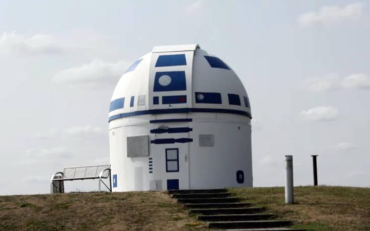 Ένα αστεροσκοπείο «μασκαρεύτηκε» στον R2-D2 του Star Wars