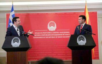 Τσίπρας και Ζάεφ συμφώνησαν στην ίδρυση πρεσβειών που θα αντικαταστήσουν τα Γραφεία Συνδέσμου