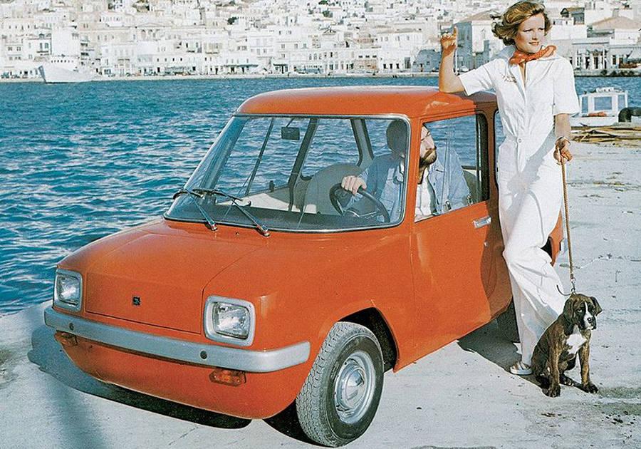 Η ιστορία του πρώτου σύγχρονου ηλεκτρικού αυτοκινήτου που κατασκευάστηκε στη Σύρο και ναυάγησε