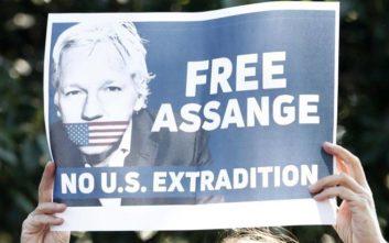 Στον Τζούλιαν Ασάνζ το βραβείο της Ευρωπαϊκής Αριστεράς για τους whistleblowers