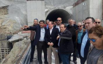 Η επίσκεψη στο εργοτάξιο του δρόμου Ηράκλειο – Μεσαρά και οι ανησυχίες για το έργο