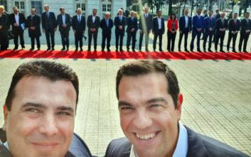 Ο Ζάεφ για τη selfie με τον Τσίπρα: Χαρούμενες στιγμές