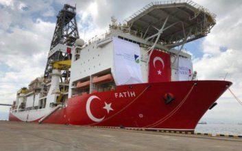 Περιοχή νότια του Καστελόριζου δέσμευσε με παράνομη NAVTEX η Τουρκία