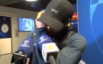 Champions League: Δάκρυσε ο Μόουρα όταν είδε σε βίντεο το νικητήριο γκολ του