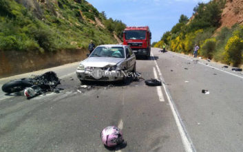 Δύο νεκροί στο τροχαίο στα Χανιά, εξέπνευσε και ο άλλος οδηγός