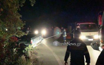 Αυτοκίνητο με τρεις επιβάτες κρεμάστηκε σε γκρεμό στην Κρήτη
