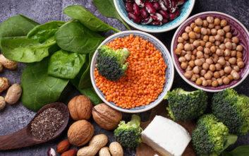 Η ενισχυμένη κατανάλωση φυτικών πρωτεϊνών και τα οφέλη στην υγείας μας