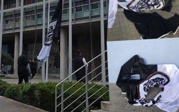 Σκληρή ανακοίνωση του Super 3 κατά Μπουτάρη για τις σημαίες του ΠΑΟΚ στο δημαρχείο