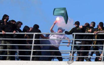 Σε δίκη παραπέμπονται 30 οπαδοί ΠΑΟΚ και ΑΕΚ για τα επεισόδια στον Βόλο