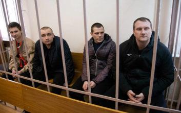 Ρωσία: Το Κρεμλίνο δεν θα απελευθερώσει τους Ουκρανούς ναύτες