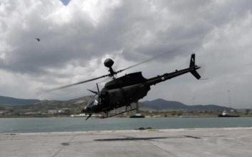 Έφτασαν τα αμερικανικά επιθετικά ελικόπτερα του Στρατού Ξηράς