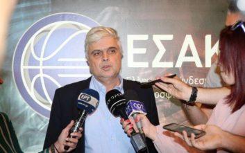Παπαδόπουλος: Ο Ολυμπιακός λέει ότι δεν θα παίξει χωρίς ξένους διαιτητές