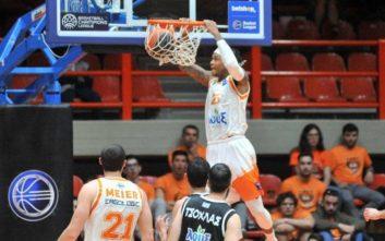 Basket League: Άνετη νίκη του Προμηθέα επί του ΠΑΟΚ και 1-0 στη σειρά