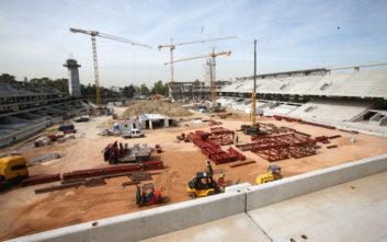 Γήπεδο ΑΕΚ: Τα πρώτα κομμάτια του στεγάστρου και το «κλείσιμο» στην παλιά Σκεπαστή